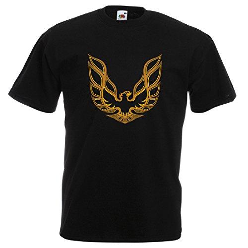 T-shirt homme trans am bandit Firebird noir, taille XXL