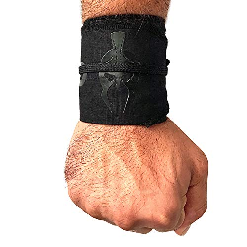 One Man Empire Strength Wrist Wraps for Weightlifting, Cross Training, Powerlifting, Olympic Lifting, Calisthenics, WOD Workouts. Wrist Support for Men and Women- Fits All Wrist Sizes