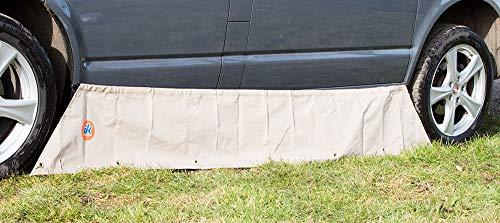 Just Kampers Falda para toldo y burlete de Aire Compatible con VW SWB Transporter T4, T5 y T6 a Partir de 1990