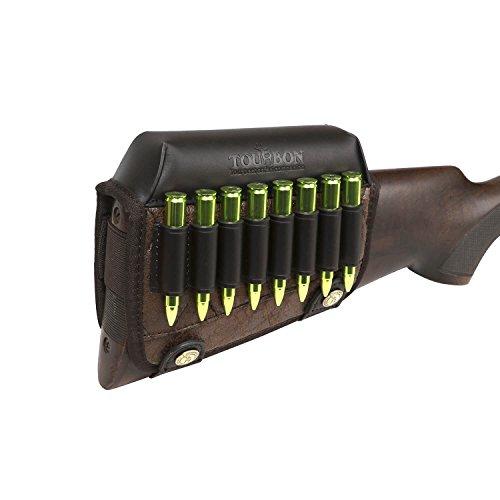 TOURBON Rifle Culata Cartucho Titular Mejilla Resto Bolsa