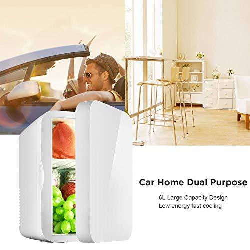 N A Mini Kühlschrank, kleine 12v Auto Mini-Kühlschrank 220v einziger Türer doppelte Zweck Thermo Mini-Kühlschrank Heizkörper Heizung