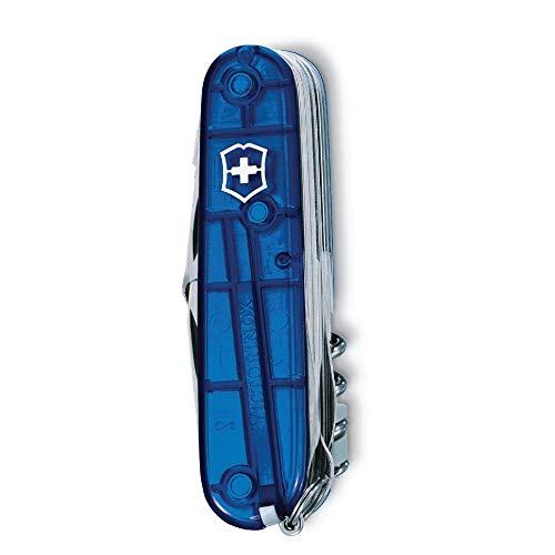 Victorinox V16795.T2 Navaja Medio Swiss Champ, Azul, M