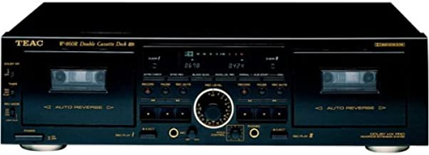 Teac W-860R Dual A / R Cassette with Pitch Control (Discontinued by Manufacturer)