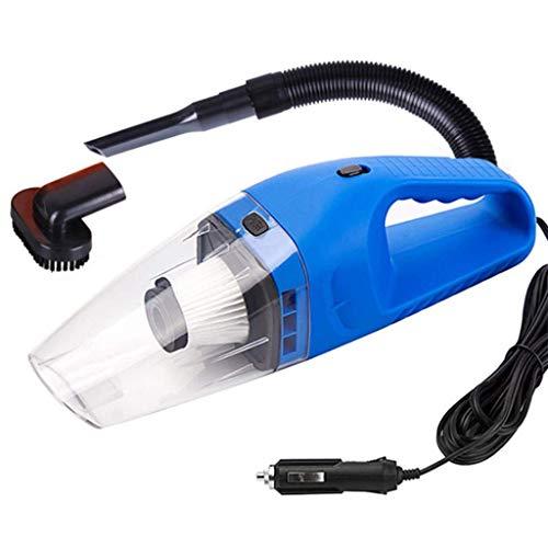 SUYING Limpiador de Coches, una Fuerte succión al vacío portátil de Mano Limpiador, WetDry Aspiradora vehículo con diversas boquillas y Manguera de 5 m de Longitud (Color: Azul) DYWFN (Color : Blue)