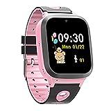InnJoo Reloj Inteligente Niña SMARTWATCH Kids V2 LOCALIZADOR GPS P3.6 Pink