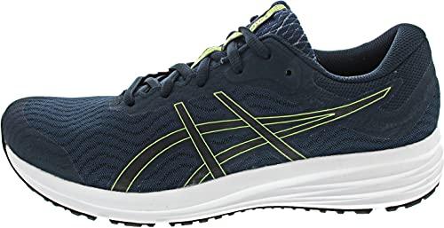 ASICS Patriot 12, Zapatillas de Running Hombre, Azul y Negro, 43.5 EU