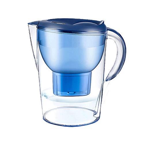 Idebirs Purificación de Agua Potable Copa Directa Neta Hervidor portátil Grande Filtro Capacidad del Filtro Hervidor Hogar Filtro de núcleo Cocina hervidor Grande de 3,5 litros de Capacidad