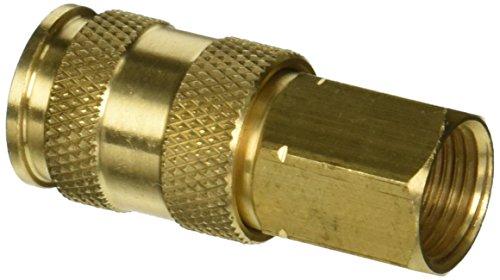 """Milton Industries (S-766) 3/8"""" FNPT Female V-Style High-Flow Coupler"""