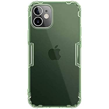 """Nillkin Case for Apple iPhone 12 Mini (5.4"""" Inch) Nature Series Back Soft Flexible TPU Green Color"""