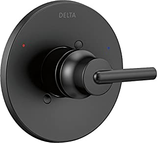 Delta Faucet T14059-BL Trinsic Monitor 14 Series Valve Only Trim, Matte Black,