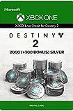 Crédit Xbox Live pour Destiny 2 - 2000 + (300 en Bonus) Argentum Xbox One/Win 10 PC - Code jeu à télécharger