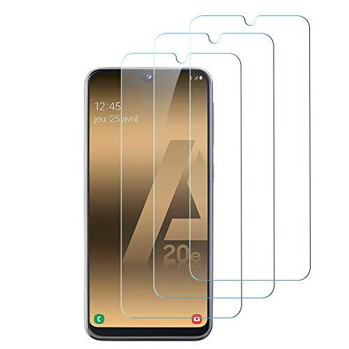 Hanbee Protector de Pantalla para Samsung A20e Cristal Templado para Samsung Galaxy A20e Protector Pantalla, 3 Unidades Alta Definicion, 3D Cobertura Completa, Resistente a Arañazos