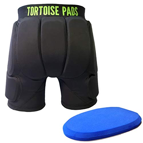 Tortoise Pads Single Density - Seven Pad Impact Protection Padded Shorts (Kids' Medium)