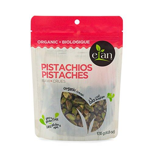ELAN Organic Raw Pistachios 135 Gram