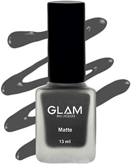 GLAM Mani Pedi Matte Nail Polish: Mattetnnight - GM2 - Matte Black