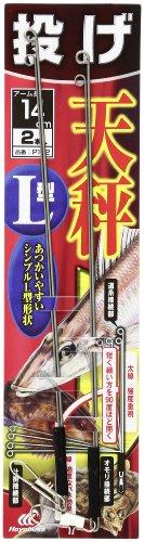 ハヤブサ(Hayabusa) 投げ天秤 L型2本 14 P162-14