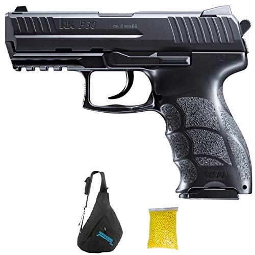 P30 M24 UMAREX HK (6mm) | Pack Pistola de Airsoft (Bola 6 mm). Arma de Muelle. Calibre 6mm. 0.54 Julios.