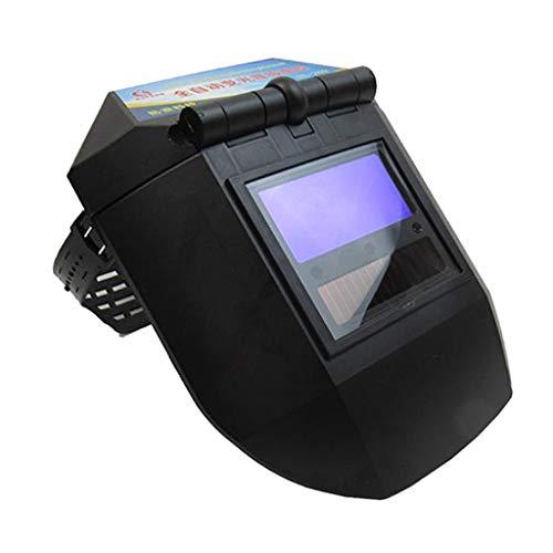 #N/A True Color Solar Powered Auto Darkening Welding Helmet, Wide Shade 9-13 for TIG MIG ARC Weld Hood Helmet