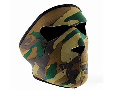 tsnetworks Camuflaje Máscara de esquí Máscara Bike Máscara Snowboard Máscara Exterior Máscara Paintball Máscara Máscara Pasamontañas de Neopreno