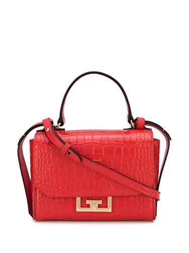Luxury Fashion | Givenchy Dames BBU005B0LK600 Rood Leer Handtassen | Lente-zomer 20