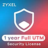 ZyXEL UTM Lizenz, 1 Jahr Content Filtering, Anti-Spam, Virenschutz durch Bitdefender Signatur, IDP für USG40/USG40W [LIC-BUN-ZZ0046F]