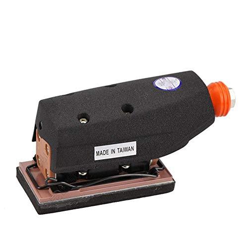 YELLAYBY Practica portátil neumático Lineal neumático Sander, Mano Ligera y cómoda Herramienta Aire Molino de Mano Grado Industrial Herramientas industriales