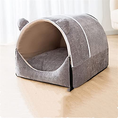 QWEQWE Casa de Perro portátil de Perros Portátil Semi Cerrado Grande Cama acogedora para un Perro Grande Grande (Color : Pet House 3, Size : XL03)