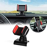 CheroCar for Jeep Phone Holder Cellphone Mount for 2018-2020 Jeep Wrangler JL,Interior Accessories.