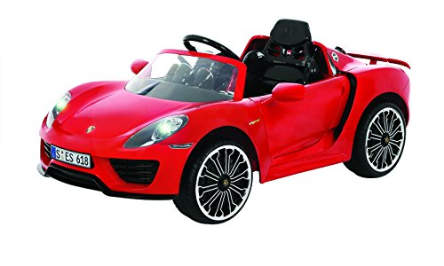 Rollplay 6 Volt Porsche 918 Ride On Toy, Battery-Powered Kid's Ride On Car (Amazon Exclusive)