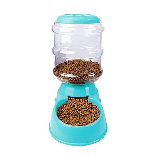 ZLHEgan 3.5L Pet Gravity Automatischer Selbst Spender-Nahrungsmittelzufuhr/Waterer Trinkbrunnen Wieder auffüllen
