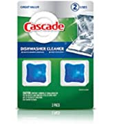 Cascade Dishwasher Cleaner (2Pack) (Blue)