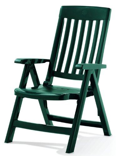 Sieger 'Palma Sedia Pieghevole, Colore: Verde