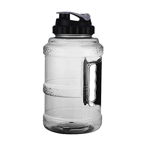 Kaxofang Botella de Agua Grande de 2,5L Botella de Agua Reutilizable EcolóGica para Hombres, Mujeres, Gimnasio, Ciclismo Al Aire Libre
