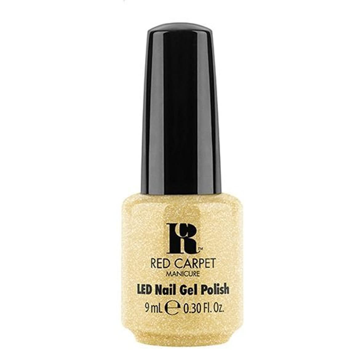 弾丸ピンク没頭するRed Carpet Manicure - LED Nail Gel Polish - Nice Nunchucks - 0.3oz / 9ml