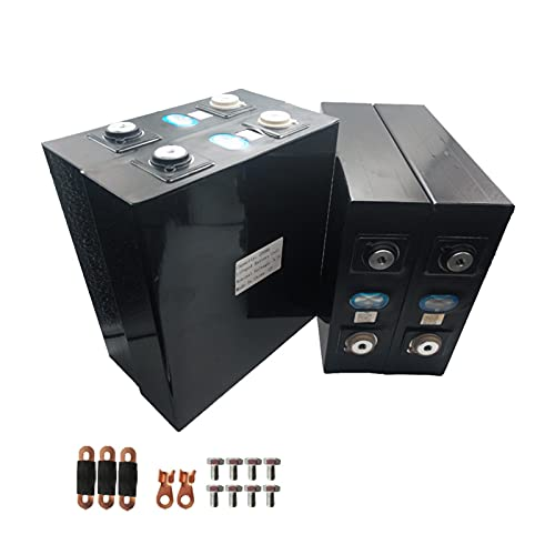 BateríA de Ciclo Profundo Lifepo4 de 3,2 V, BateríA de Fosfato de Hierro y Litio, Kit de BateríA Solar RV, Sistema de Almacenamiento de EnergíA de BateríA de Litio 202ah (4 Piezas/Lote)