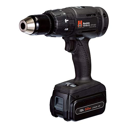 Buy Discount Huskie Power Tools by Panasonic: Battery-Operated Hammer Drill Driver Kit (HTP-HDD)