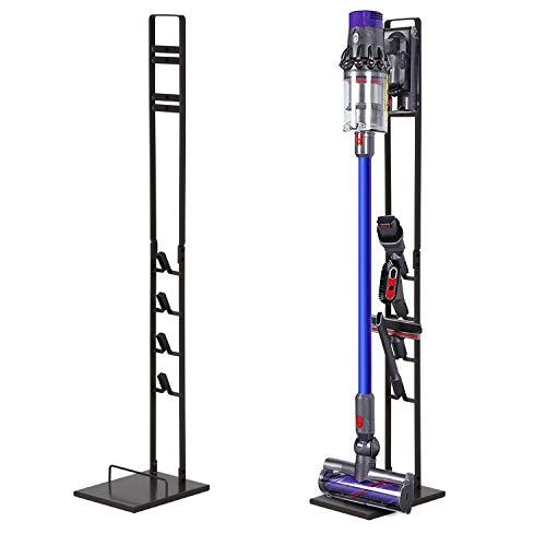 Tolhoom Storage Stand Dock Docking Station for Dyson V11 V10 V8 V7 V6 Cordless Stick Vacuum Cleaner, Stable Metal Storage Bracket Organizer Rack
