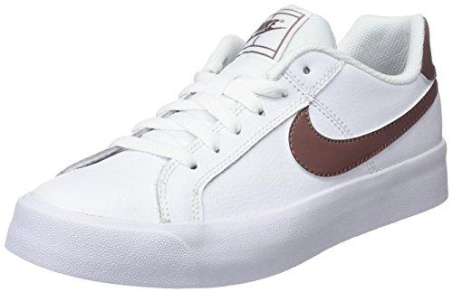 Nike Wmns Court Royale AC, Scarpe da Tennis Donna, Multicolore (White/Smokey Mauve 101), 36.5 EU