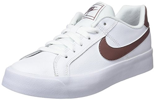 Nike Wmns Court Royale AC, Scarpe da Tennis Donna, Multicolore (White/Smokey Mauve 101), 38.5 EU