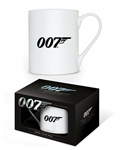 1art1 James Bond 007, 007 Logo Foto-Tasse Kaffeetasse (9x8 cm) Inklusive 1x Überraschungs-Sticker