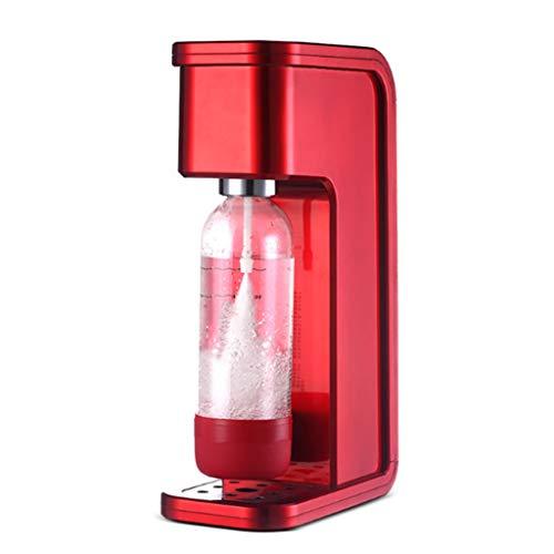 middle Machine À Gazéifier Machine À Soda À Eau Pétillante, Gaz pour Eau, Cocktails Et Autres Boissons, sans CO² Cylindre,ABS + Pet,21 * 12 * 41cm,Bouteille d'eau 1L * 1/0.5L * 1