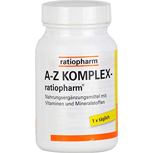 A-Z KOMPLEX ratiopharm Tabl., 100 St