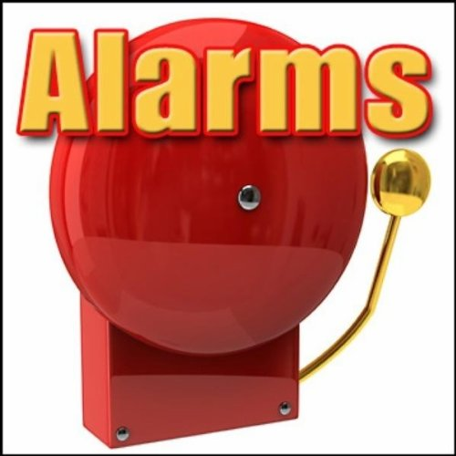 Alarm, Fire - Large Office Building: Int: Fire Alarm, Slow Beeping Alarms, Beeps, Fire Scenes, Fires & Flames