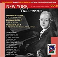 Complete Mozart Divertimentos Historic First 1