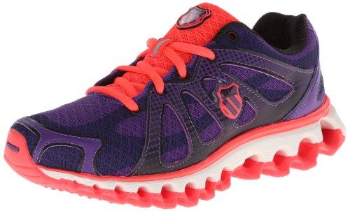 K-Swiss Performance Tubes Run 130 P, Zapatillas de Tenis Mujer, Morado (Violett (Majestic Purple/Neon Red), 43