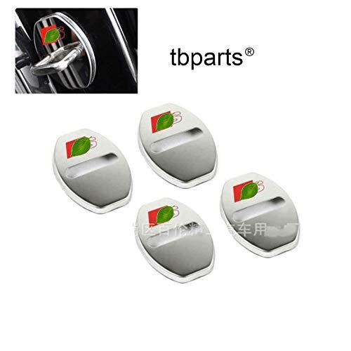 Preisvergleich Produktbild Car Styling Door Lock Cover For A1 8X A4 B9 B8 B7 8T3 8F7 RS3 8VA 8V S1 S3 8V RS4 B9 B8 B7 A3 8V S4 B8 B9 Accessories