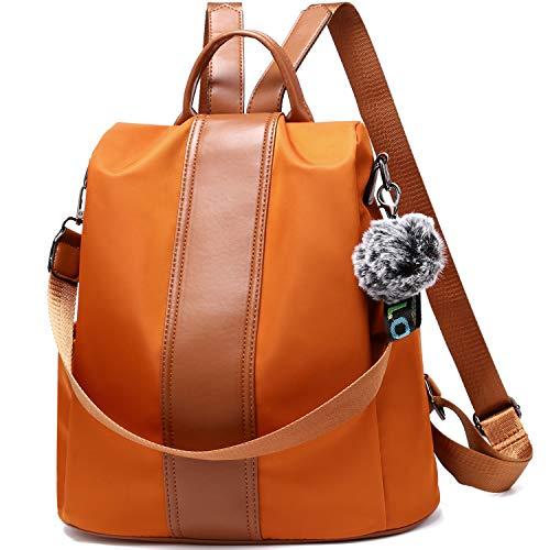 TcIFE Borsa zaino per donna Borsa scuola moda e borse Borse a spalla Zaino in nylon antifurto