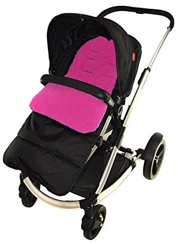Saco/Cosy Toes Compatible con paseo Tippitoes, color rosa