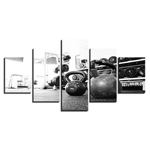 5 Canvas Paintings HD Prints Home Decoration 5 Pieces Wall Art Modular Gym Canvas Painting Landscape For Bedside Background Pictures Artwork Poster (WX107)
