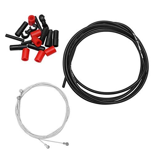 CLISPEED 1 Juego de Cable de Freno de Bicicleta Cable de Cable...